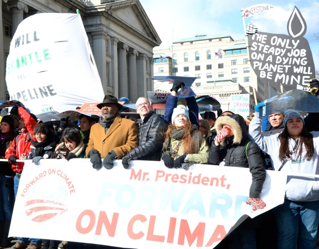 About 35,000 March on Washington for Action on Climate Change