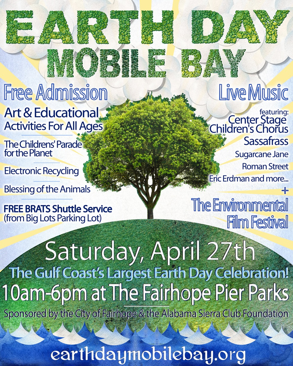 Celebrate Earth Day On Mobile BayThe Locust Fork News Journal The