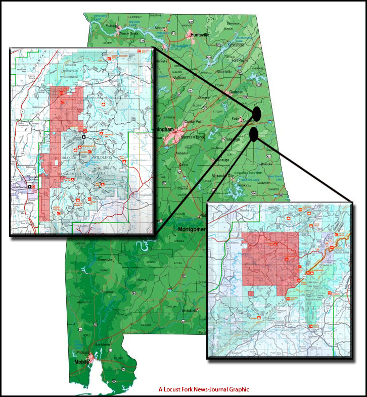Fracking in the Talladega National Forest is Not in the National, State or Local Interest