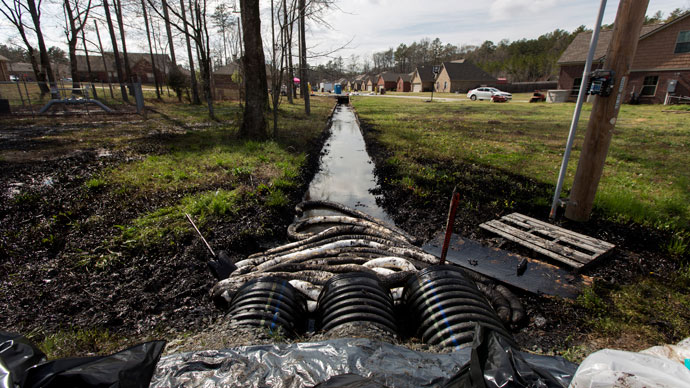 Tar Sands Crude Pipeline Ruptures, Dumps 84,000 Gallons on Mayflower, Arkansas