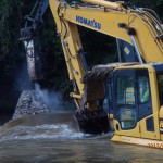 Lassiter Mill Dam Removed on Uwharrie River in North Carolina