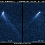 NASA's Hubble Photographs Asteroid Spouting Six Comet-Like Tails