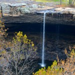 Noccalula Falls and the Coosa River